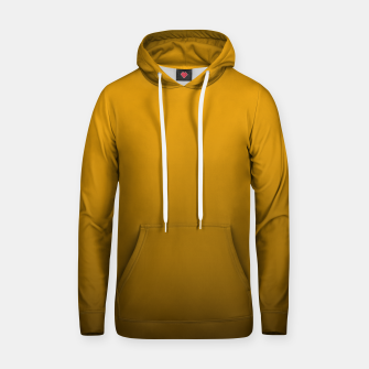 Miniatur Pale Pumpkin Orange and Black Deadly Ombre Nightshade Cotton hoodie, Live Heroes