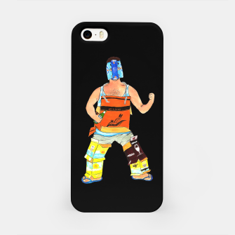 Thumbnail image of Goonman Black iPhone Case, Live Heroes