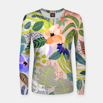 Thumbnail image of Wander Woman cotton sweater, Live Heroes