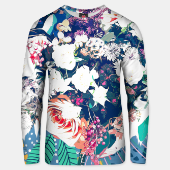 Thumbnail image of Bouquet Cotton sweater, Live Heroes