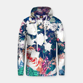 Thumbnail image of Bouquet Cotton hoodie, Live Heroes