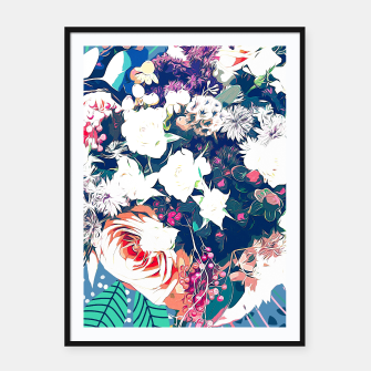 Thumbnail image of Bouquet Framed poster, Live Heroes