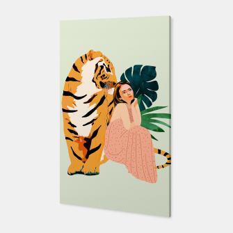 Thumbnail image of Tiger Spirit Canvas, Live Heroes