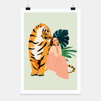 Thumbnail image of Tiger Spirit Poster, Live Heroes