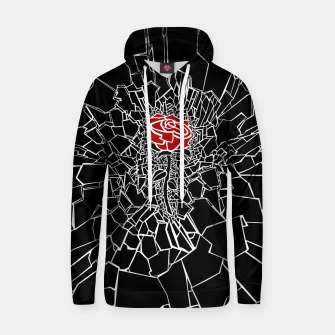 Thumbnail image of The Shattered Rose Cotton hoodie, Live Heroes