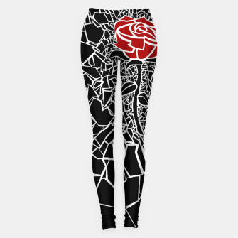 Thumbnail image of The Shattered Rose Leggings, Live Heroes