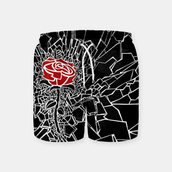Thumbnail image of The Shattered Rose Swim Shorts, Live Heroes