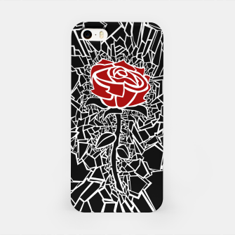 Thumbnail image of The Shattered Rose iPhone Case, Live Heroes