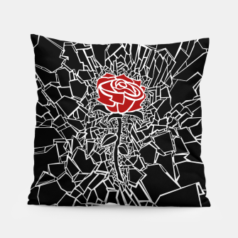 Thumbnail image of The Shattered Rose Pillow, Live Heroes