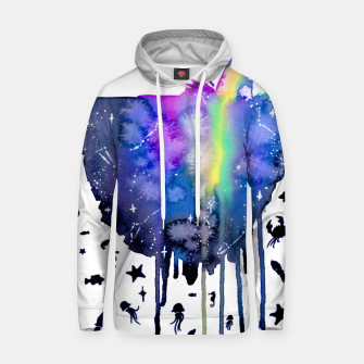 Thumbnail image of sea creatures Cotton hoodie, Live Heroes