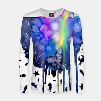 Thumbnail image of sea creatures Woman cotton sweater, Live Heroes