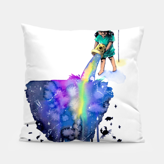 Thumbnail image of sea creatures Pillow, Live Heroes