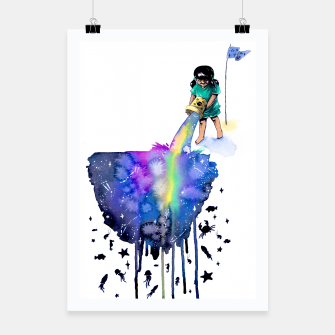 Thumbnail image of sea creatures Poster, Live Heroes
