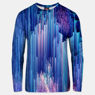 Miniatur Beglitched Waterfall - Pixel Art Cotton sweater, Live Heroes