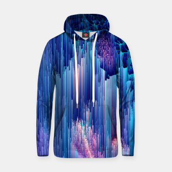 Miniatur Beglitched Waterfall - Pixel Art Cotton hoodie, Live Heroes