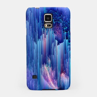 Miniatur Beglitched Waterfall - Pixel Art Samsung Case, Live Heroes