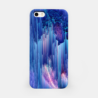 Miniatur Beglitched Waterfall - Pixel Art iPhone Case, Live Heroes