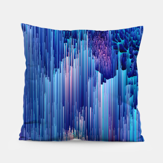 Miniatur Beglitched Waterfall - Pixel Art Pillow, Live Heroes