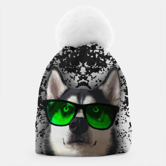 Thumbnail image of husky in goggles Czapka, Live Heroes
