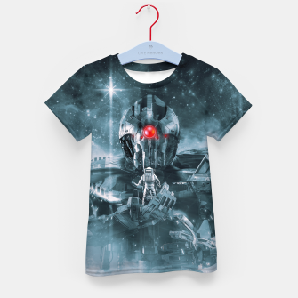 Thumbnail image of Audience With The Titan Kid's t-shirt, Live Heroes
