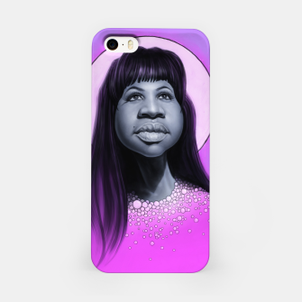 Aretha Franklin iPhone Case thumbnail image