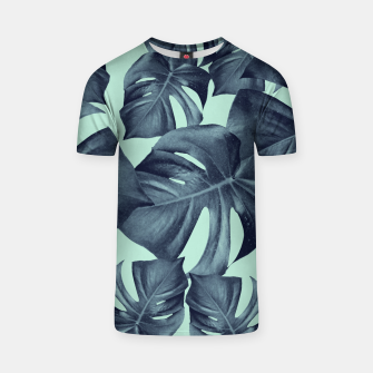 Thumbnail image of Monstera Leaves Pattern #10 #tropical #decor #art T-Shirt, Live Heroes