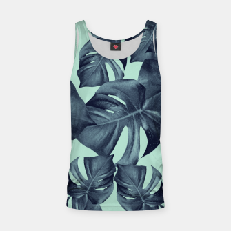 Thumbnail image of Monstera Leaves Pattern #10 #tropical #decor #art Muskelshirt , Live Heroes