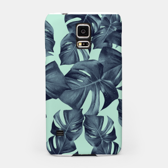 Thumbnail image of Monstera Leaves Pattern #10 #tropical #decor #art Handyhülle für Samsung, Live Heroes