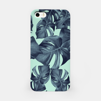 Thumbnail image of Monstera Leaves Pattern #10 #tropical #decor #art iPhone-Hülle, Live Heroes