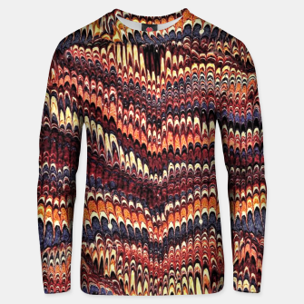 Thumbnail image of Marbled Vintage Earthtone Cotton sweater, Live Heroes