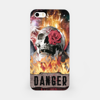 Thumbnail image of DANGER GOTHIC SKULL Carcasa por Iphone, Live Heroes