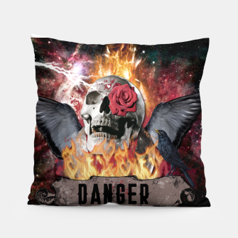 Thumbnail image of DANGER GOTHIC SKULL Almohada, Live Heroes