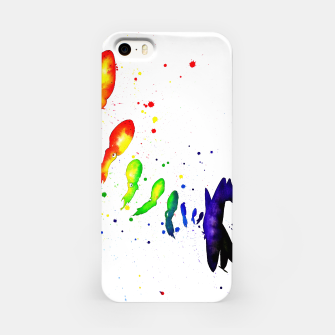 Thumbnail image of squid attack iPhone Case, Live Heroes