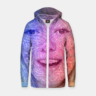 Thumbnail image of apvv Cotton zip up hoodie, Live Heroes