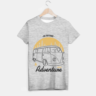 Thumbnail image of Go outside to new adventure T-shirt regular, Live Heroes