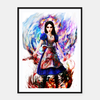 Thumbnail image of alice madness returns Framed poster, Live Heroes
