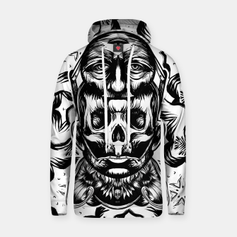 Thumbnail image of Face helmet bw Cotton hoodie, Live Heroes