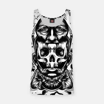Thumbnail image of Face helmet bw Tank Top, Live Heroes
