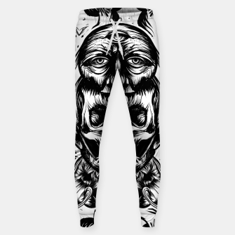 Thumbnail image of Face helmet bw Cotton sweatpants, Live Heroes