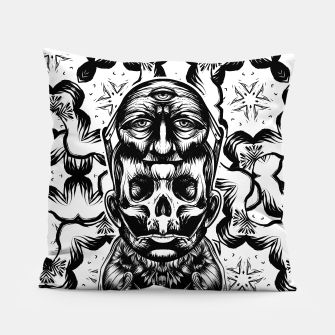 Thumbnail image of Face helmet bw Pillow, Live Heroes