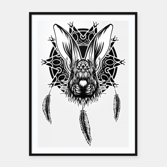 Thumbnail image of Rabbit Framed poster, Live Heroes