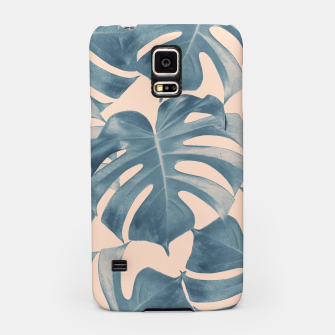 Thumbnail image of Tropical Monstera Leaves Dream #5 #tropical #decor #art  Handyhülle für Samsung, Live Heroes