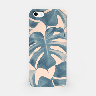 Thumbnail image of Tropical Monstera Leaves Dream #5 #tropical #decor #art  iPhone-Hülle, Live Heroes