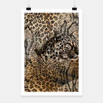 Thumbnail image of Leopard Poster, Live Heroes