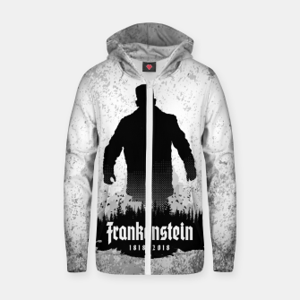 Thumbnail image of Frankenstein 1818-2018 - 200th Anniversary Cotton zip up hoodie, Live Heroes