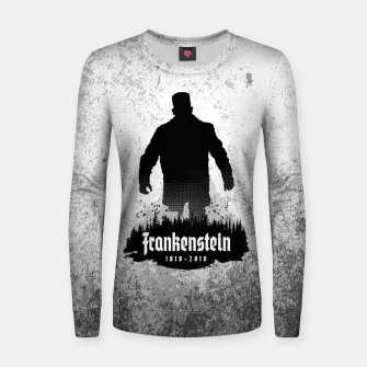 Thumbnail image of Frankenstein 1818-2018 - 200th Anniversary Woman cotton sweater, Live Heroes