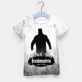 Thumbnail image of Frankenstein 1818-2018 - 200th Anniversary Kid's t-shirt, Live Heroes