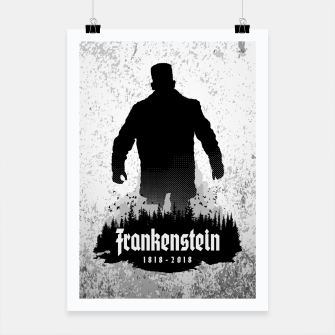 Thumbnail image of Frankenstein 1818-2018 - 200th Anniversary Poster, Live Heroes