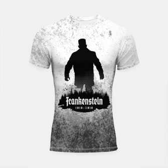 Thumbnail image of Frankenstein 1818-2018 - 200th Anniversary Shortsleeve rashguard, Live Heroes