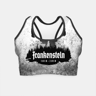 Thumbnail image of Frankenstein 1818-2018 - 200th Anniversary Crop Top, Live Heroes